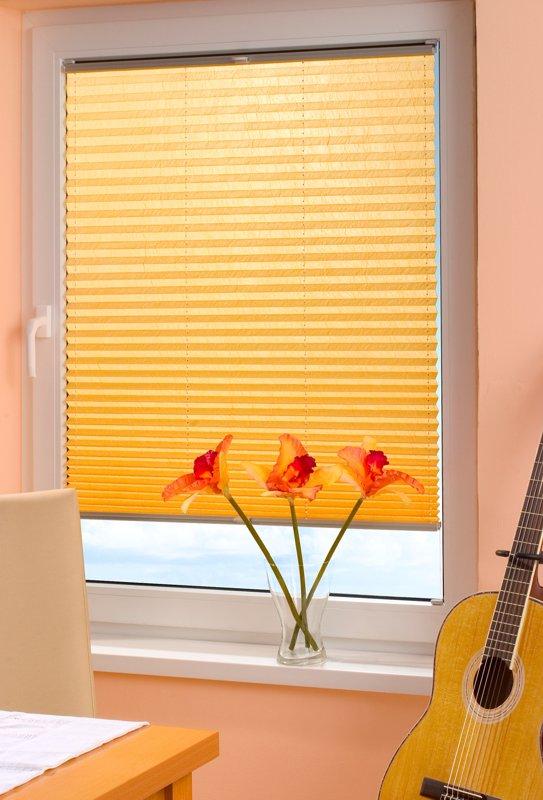 inline plissee faltstore f r standard fenster. Black Bedroom Furniture Sets. Home Design Ideas